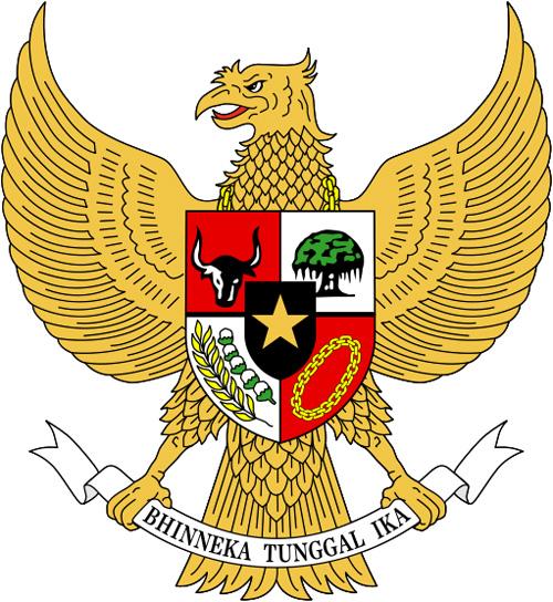 герб индонезии